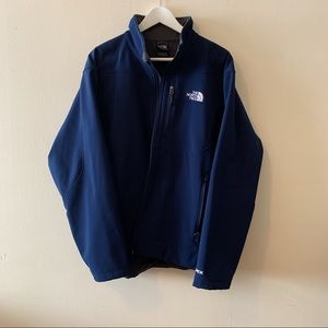 North Face Blue Light Weight Jacket
